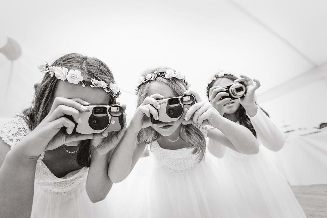 wedding photographer - kids cameras