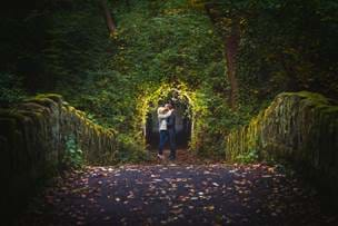 Jesmond Dene Engagement Photography