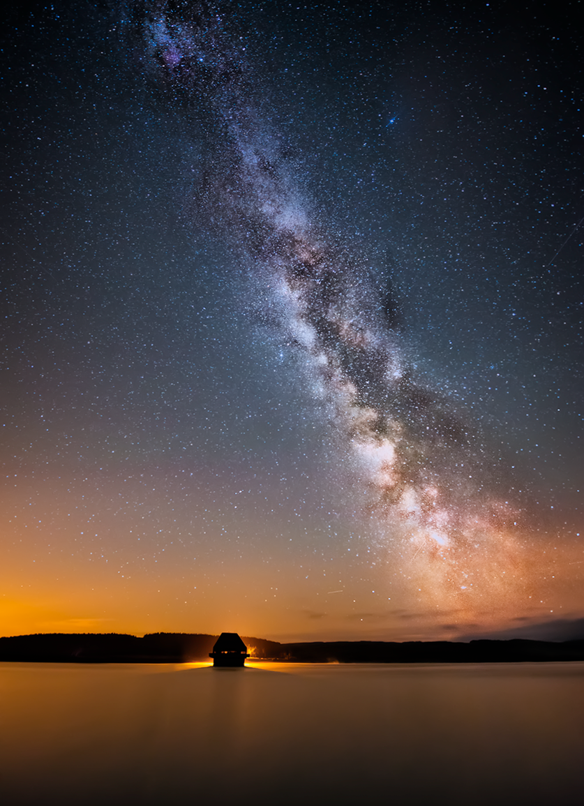 Milky Way - Kielder water