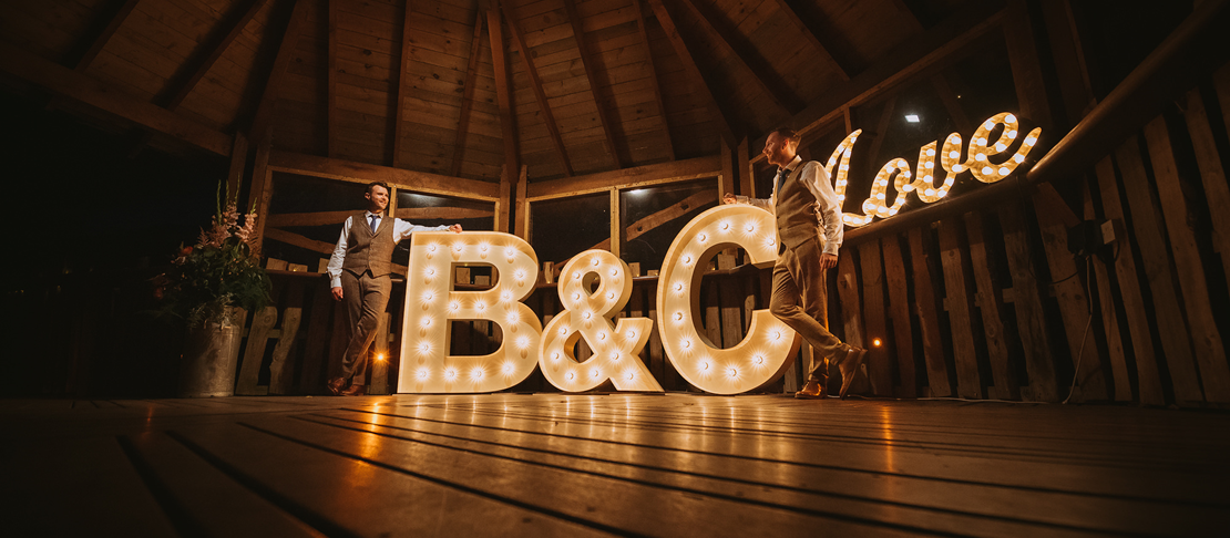 Chris + Ben - Alnwick Tree House - Northumberland Wedding Photography