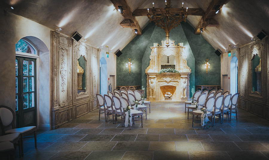 Le Petit Chateau Wedding Ceremony Room