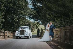 Wynyard Hall Wedding Photographer for the wedding of Bryony + David